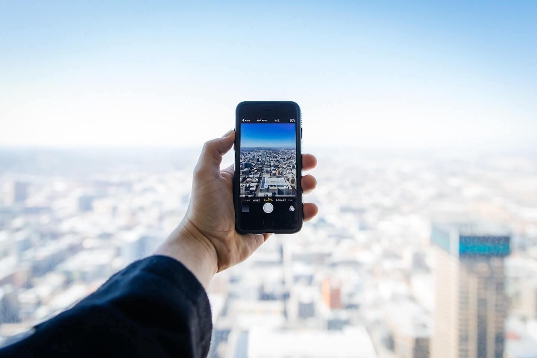 les smartphones à l'assaut des smartcities